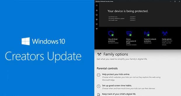 Windows 10 Creators : désactiver l'icône du Centre de Sécurité de Windows Defender.