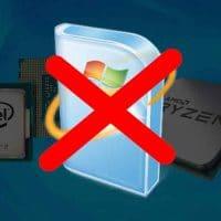 Contourner le blocage de Windows Update pour les nouveaux processeurs, par AZAMOS. [Maj]