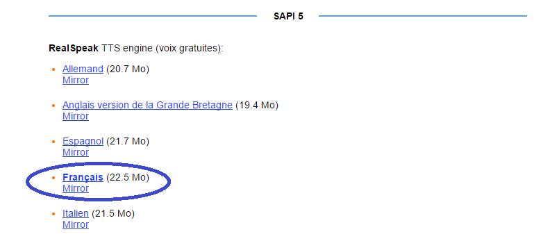 voix française Balabolka télécharger