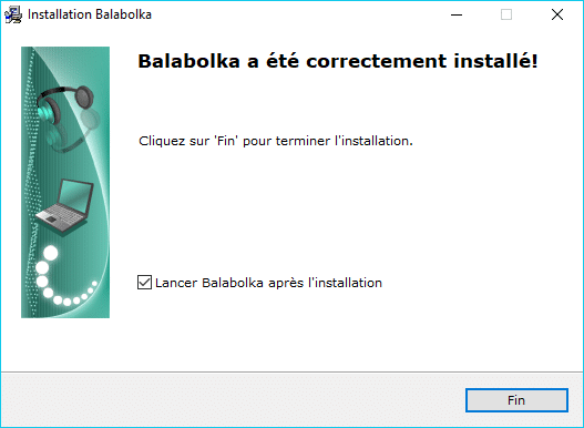 Balabolka installation tuto