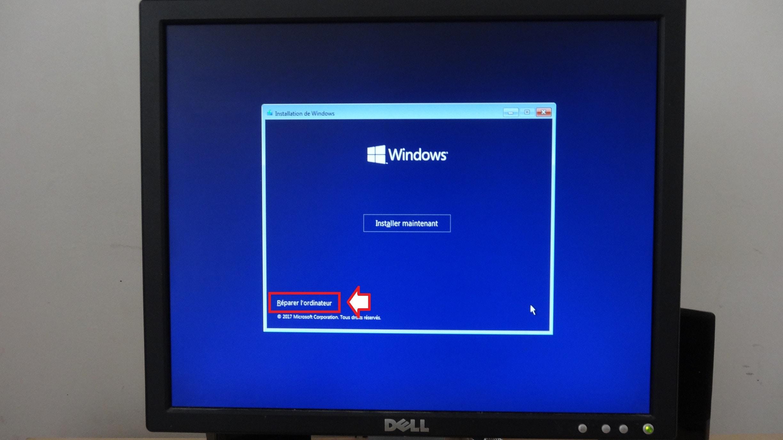 windows 10 accès