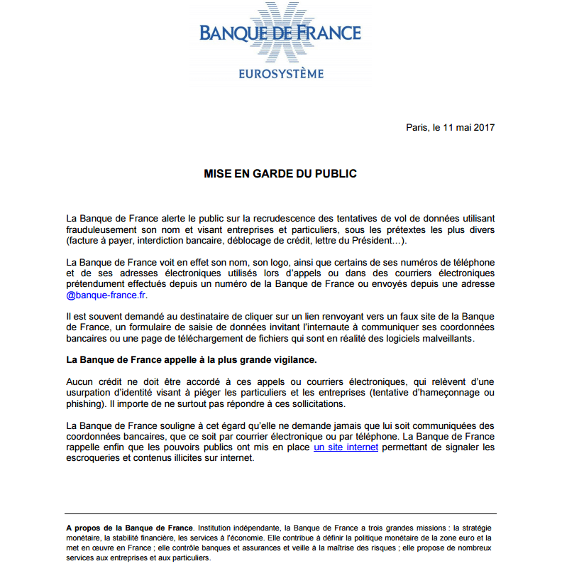 Banque De France Sospc Name 2 Sospc