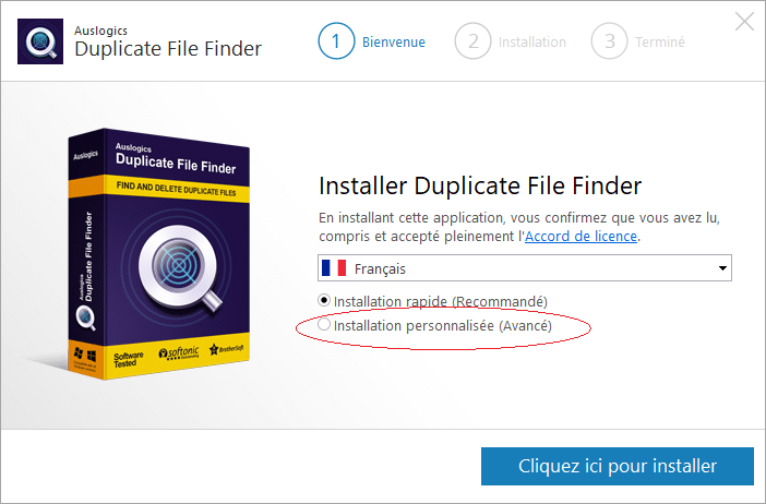 Duplicate File Finder installer