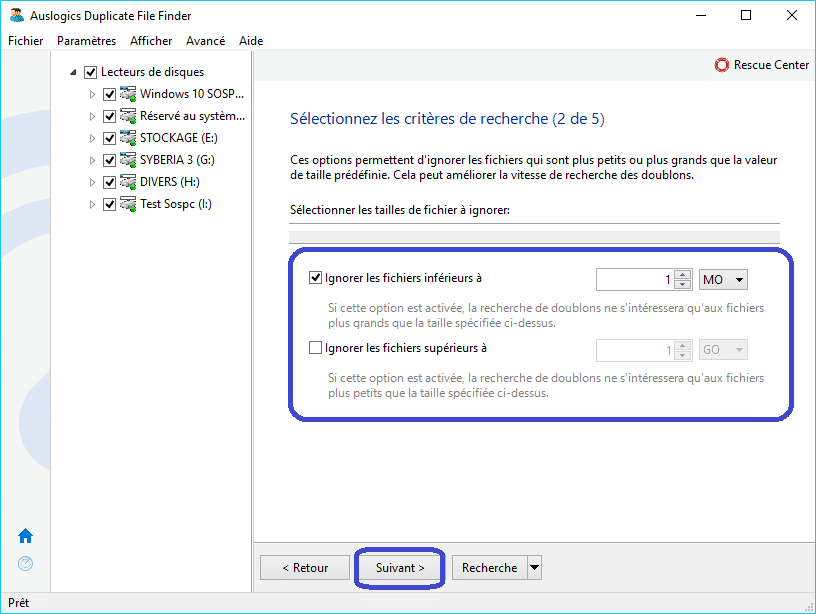 Duplicate File Finder tutoriel 3