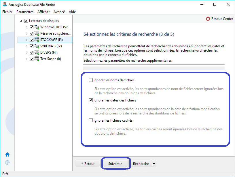Duplicate File Finder tutoriel 4