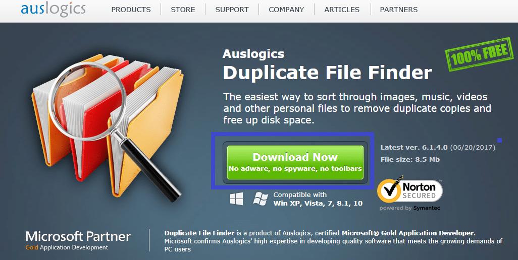 Duplicate File Finder télécharger