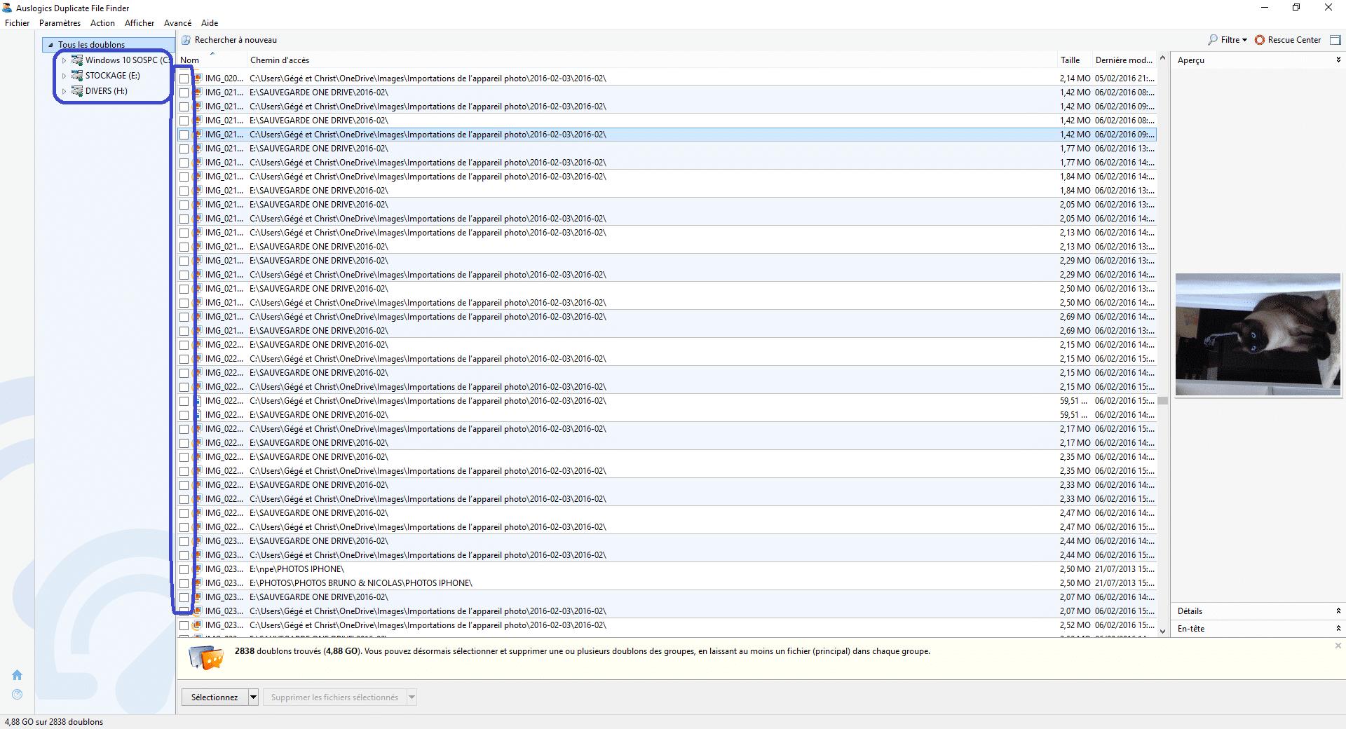 Duplicate File Finder tutoriel 12