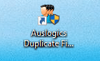 Duplicate File Finder raccourci