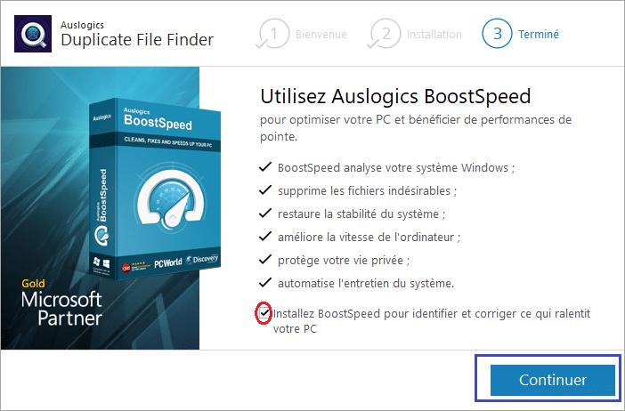 Duplicate File Finder installer 5