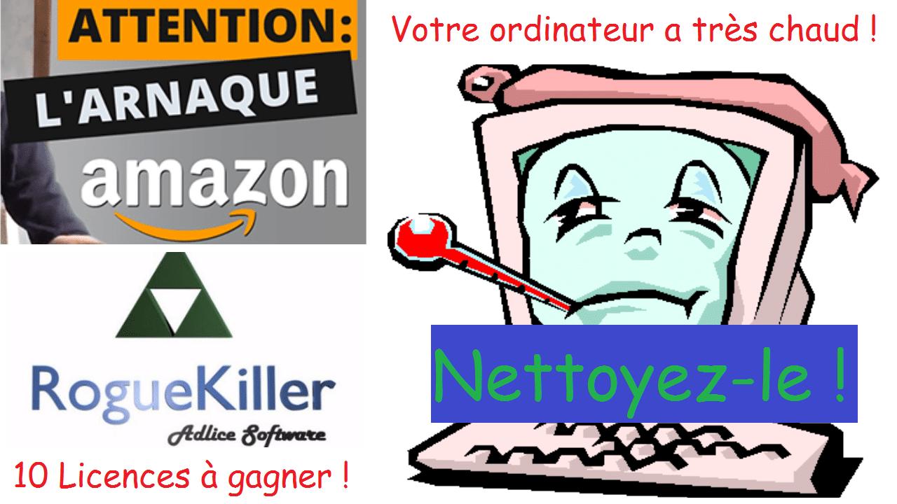 Votre ordinateur a chaud, nettoyez-le ! Concours RogueKiller. A.I.D.E #24