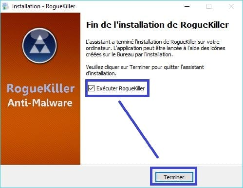 RogueKiller installation 8