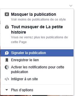 arnaque facebook