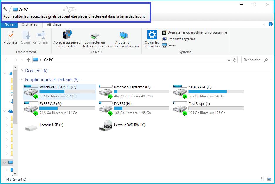Clover : ajoutez des onglets à la fenêtre de l'explorateur de Windows Tutoriel 1