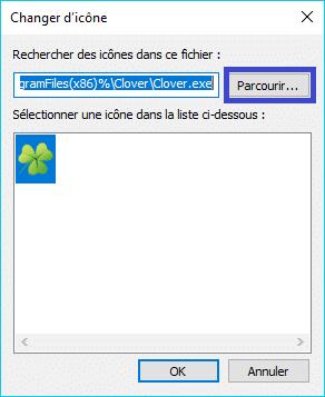 Clover : ajoutez des onglets à la fenêtre de l'explorateur de Windows remplacer icône trèfle