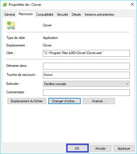 Clover : ajoutez des onglets à la fenêtre de l'explorateur de Windows remplacer icône trèfle 3