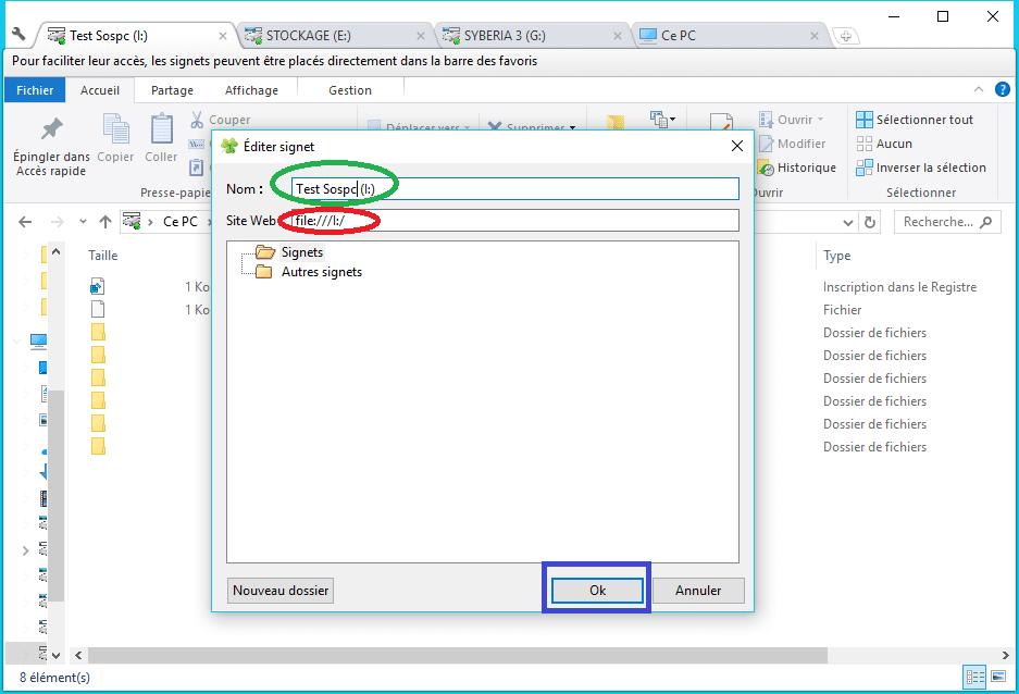 Clover ajoutez des onglets à la fenêtre de l'explorateur de Windows Utilisation 3