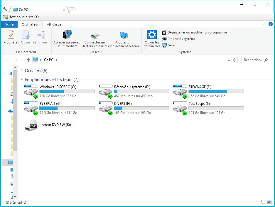 Clover ajoutez des onglets à la fenêtre de l'explorateur de Windows Utilisation 5