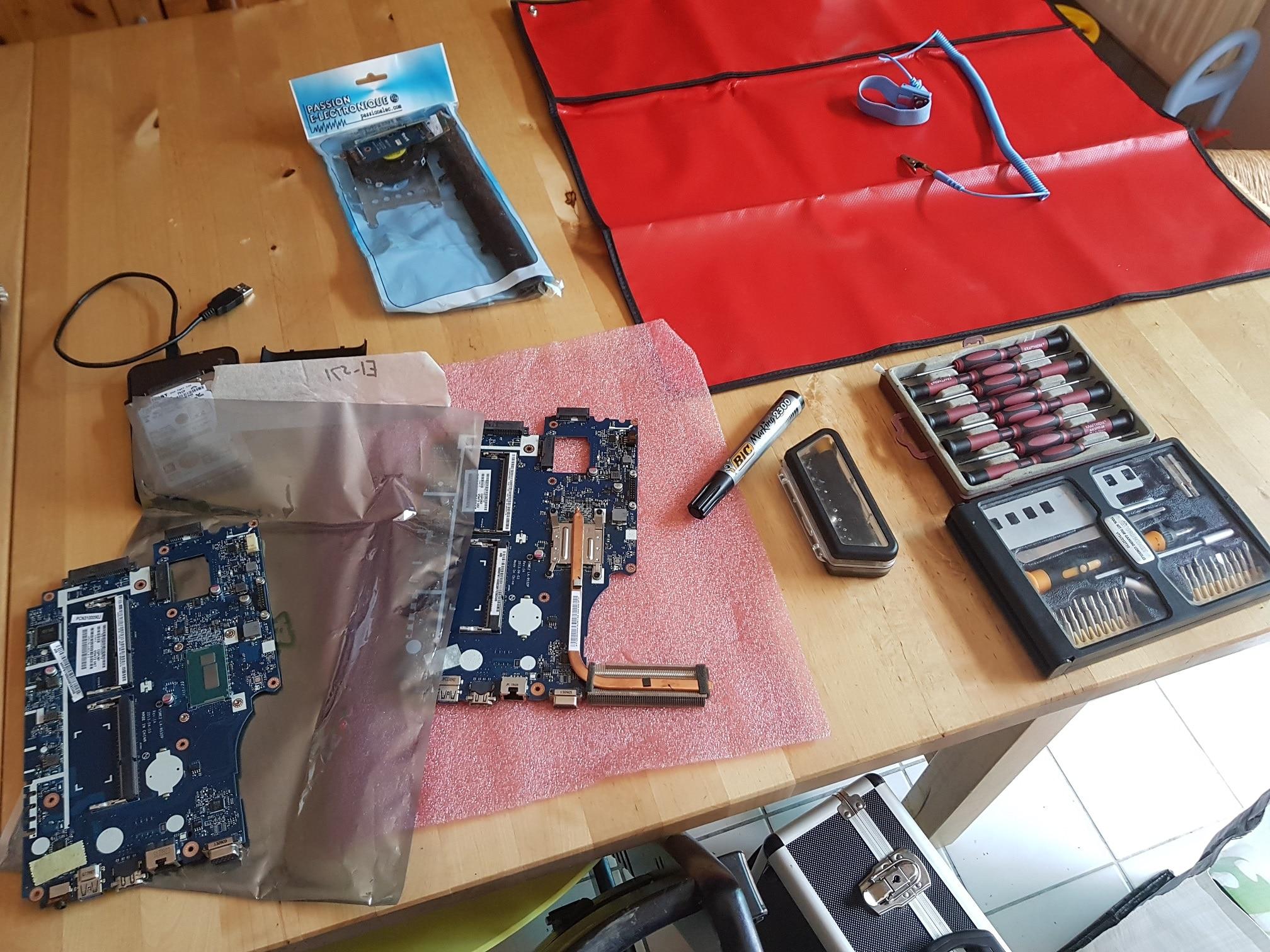 Diagnostic : un Portable Acer qui ne s'allume plus