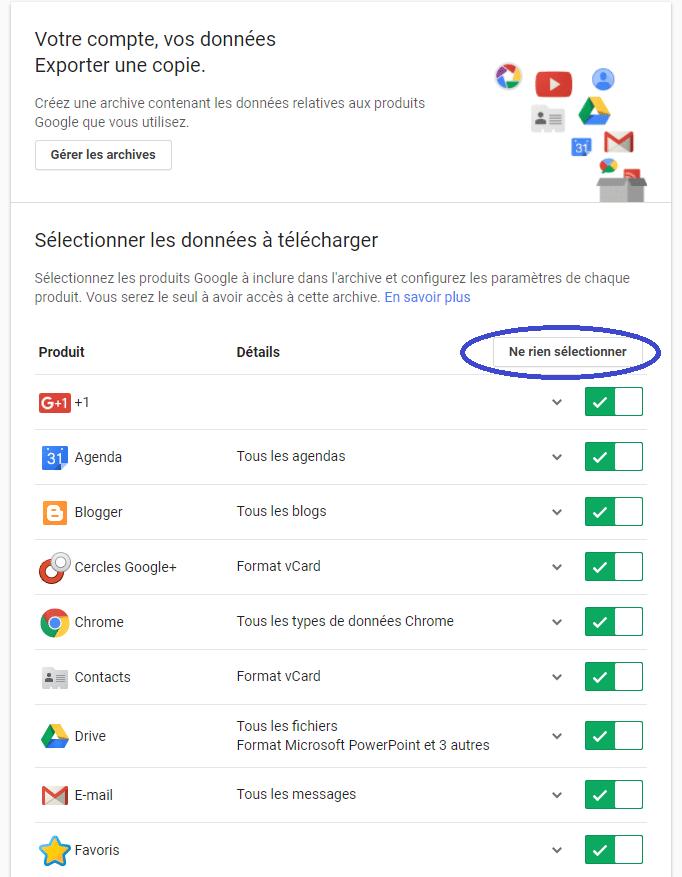Gmail sauvegarder ses mails tutoriel A