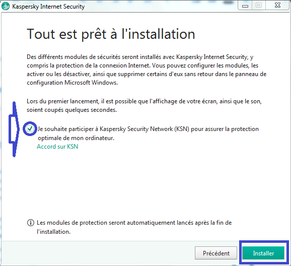Installer et paramétrer Kaspersky Internet Security 2018 tutoriel complet 2