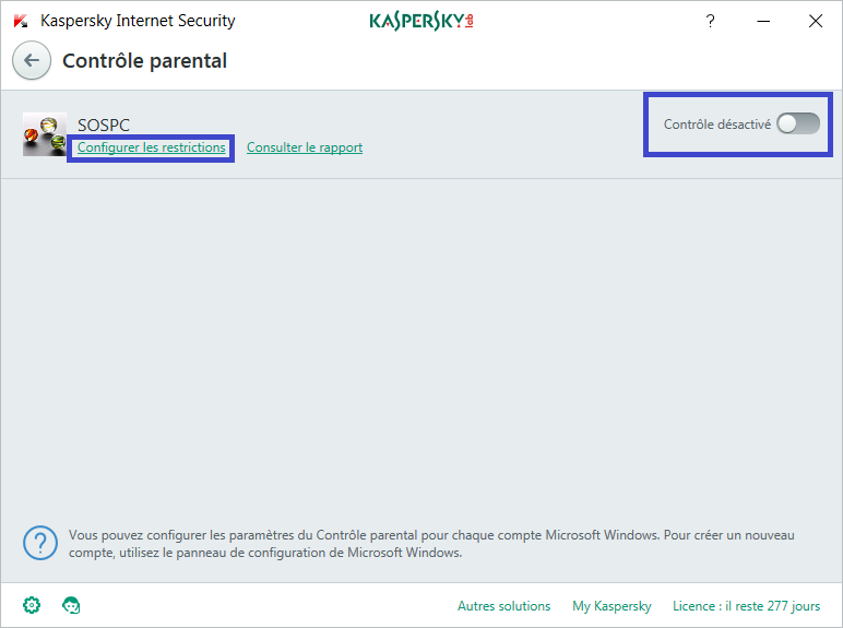 Installer et paramétrer Kaspersky Internet Security 2018 tutoriel complet S