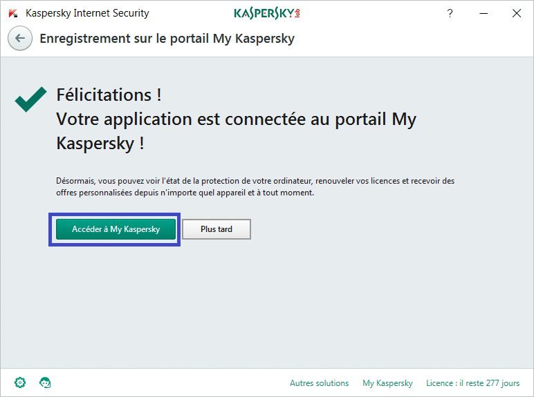 Installer et paramétrer Kaspersky Internet Security 2018 tutoriel complet V
