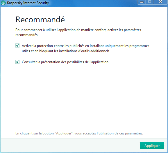 Installer et paramétrer Kaspersky Internet Security 2018 tutoriel complet 7