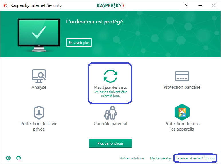 Installer et paramétrer Kaspersky Internet Security 2018 tutoriel complet A
