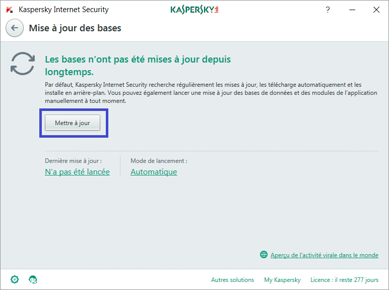 Installer et paramétrer Kaspersky Internet Security 2018 tutoriel complet C