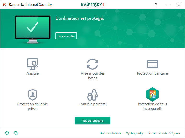 Installer et paramétrer Kaspersky Internet Security 2018 tutoriel complet M