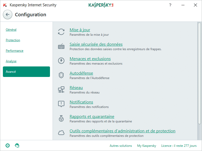 Paramétrer Kaspersky Internet Security 2018 tutoriel SOSPC.name 11