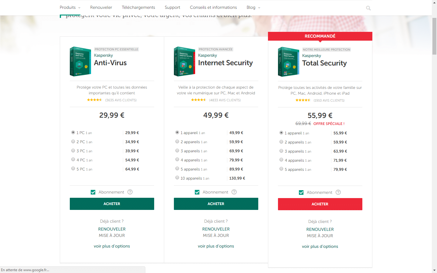 Paramétrer Kaspersky Internet Security 2018 tutoriel SOSPC.name 13