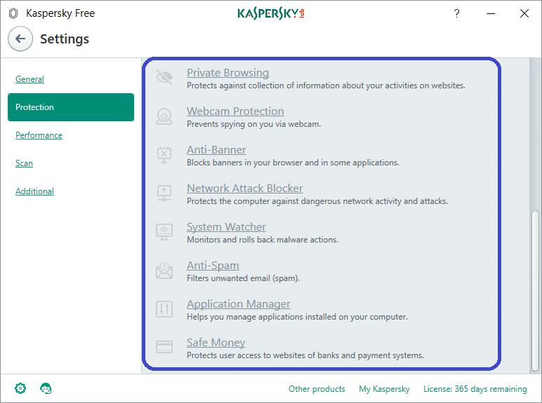 kaspersky free tutoriel en français 3
