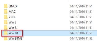 Ugreen carte réseau pilotes Windows 10