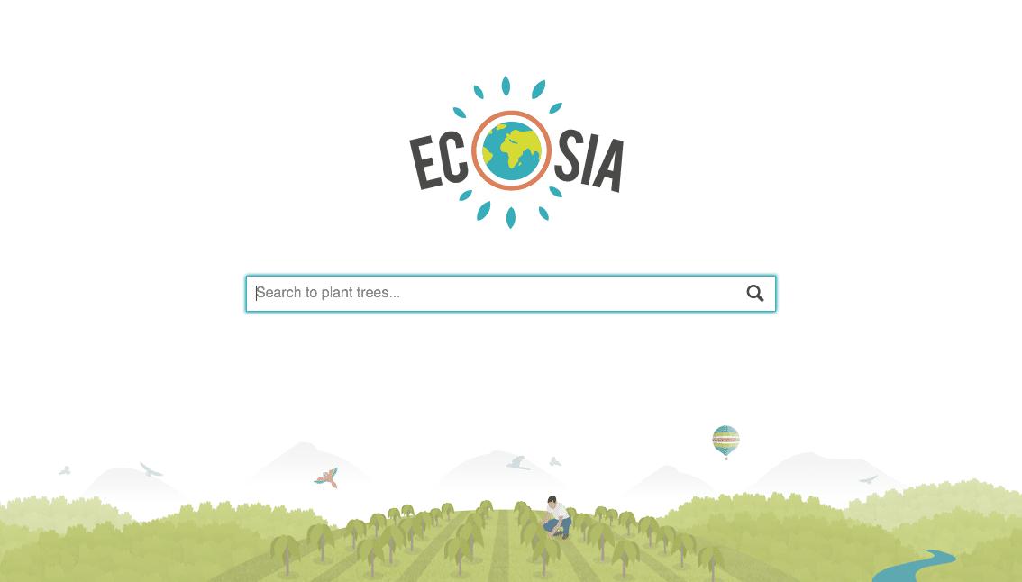 ecosia moteur de recherche sospc