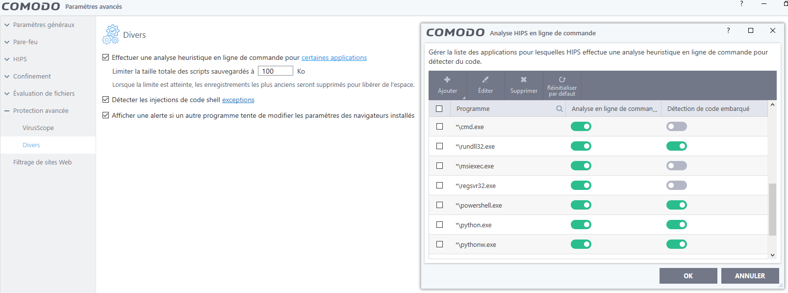 Comodo Firewall 10 tutoriel sospc.name 23