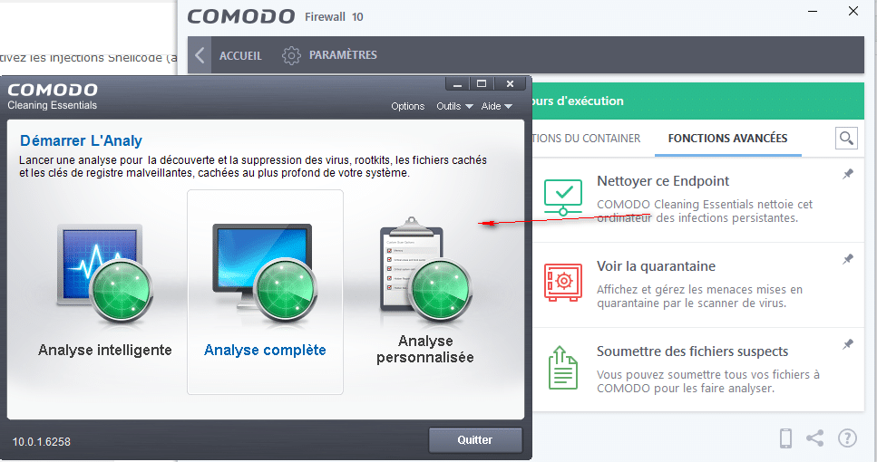 Comodo Firewall 10 tutoriel sospc.name 34