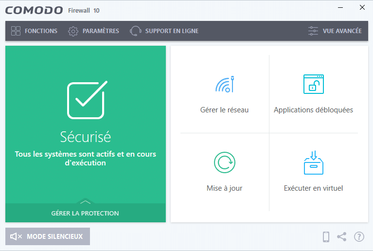 Comodo Firewall 10 tutoriel sospc.name 5