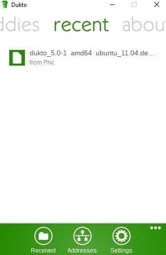 DUKTO : partagez facilement vos fichiers, photos ou musiques entre vos différents appareils locaux tutoriel 4