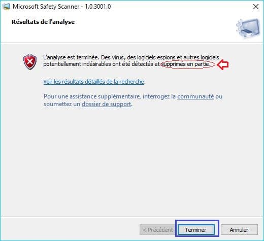 Microsoft Safety Scanner tutoriel 12