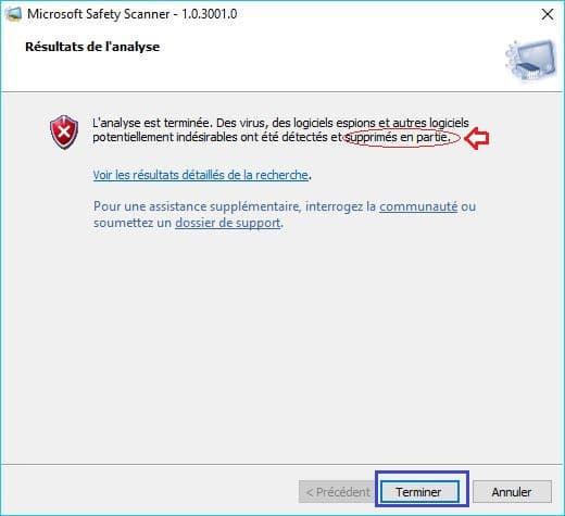 Microsoft Safety Scanner tutoriel 12