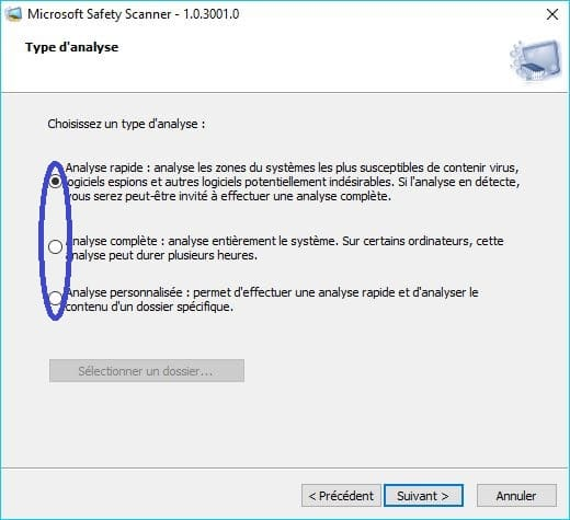Microsoft Safety Scanner tutoriel 4