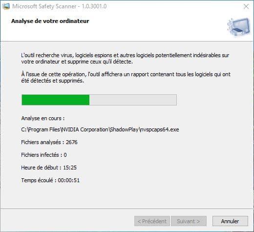 Microsoft Safety Scanner tutoriel 5