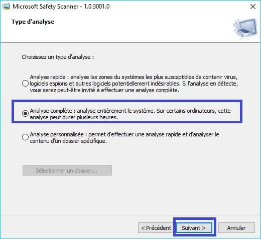 Microsoft Safety Scanner tutoriel 7