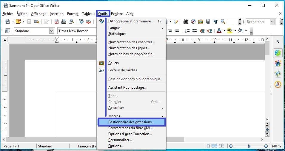 Modifier un pdf gratuitement gr ce openoffice sospc - Installer open office gratuitement francais ...