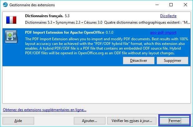 Modifier un pdf gratuitement gr ce - Installer open office gratuitement francais ...