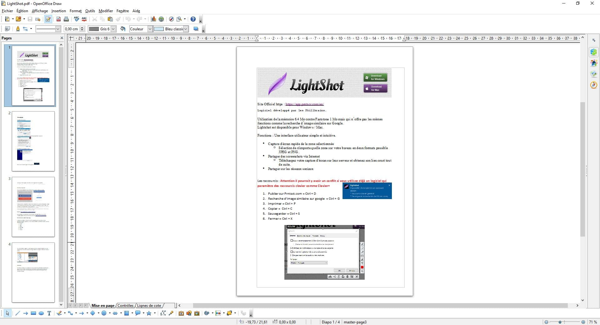 Mise en page paysage sur openoffice - Comment telecharger open office gratuitement ...