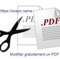 Modifier un Pdf gratuitement grâce à OpenOffice.