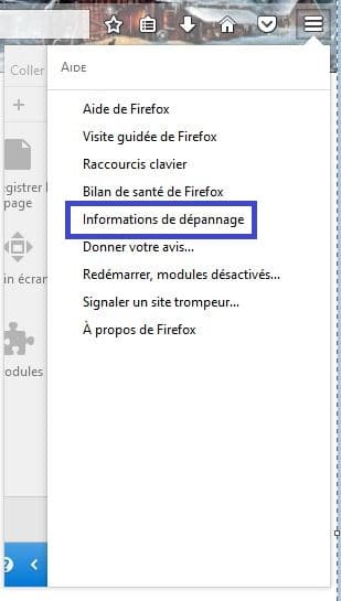 Comment Réparer Firefox. tutoriel 2