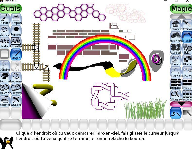 Tux Paint un logiciel de dessin utilisable dès l'age de 3 ans tutoriel 18